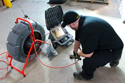 Vac Truck Services Drain Camera Inspection