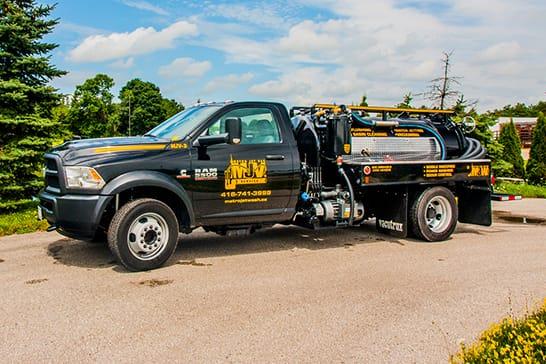 Vac Truck Services Truck